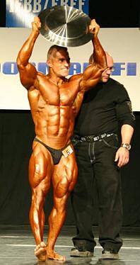 Winner! Jerry 'The Rock' Ossi (kuva: voima.net)