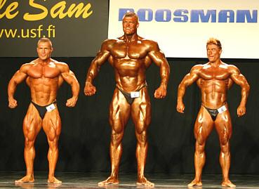 Jerry Ossi ja Mika Nyyssölä kohtasivat jättiläisen nimeltä Kim Kold (kuva: voima.net).