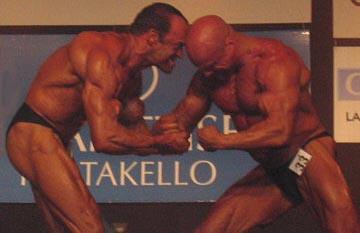Tapani Valkonen ja Kimmo Salo tappelevat mestaruudesta.