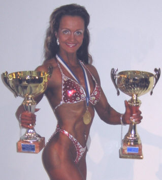 Jaana Kotkansalo Body Fitness SM-1, Overall-1