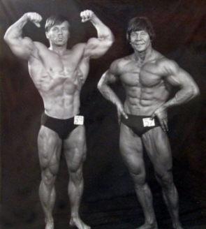 Jorma Räty ja Eino Akkila 1978