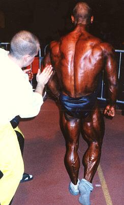 1997 Janne Wiik oli huoltajani Jyväskylän SM - kilpailussa.