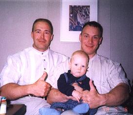 1998 Dieetti vapaa kesä. Laivamatkalla Tallinaan 18 heinäkuuta, Mano, Miikka sekä Janne.