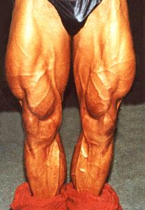 1994 Laitoin jo juniori ikäisenä tavoitteeksi kyykätä 300 kiloa. Reidet kehittyikin sen myötä hyvin.