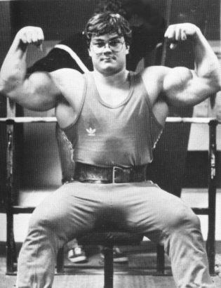 Jussi Kantola 119 kg. Atlas 3/82