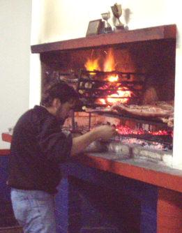 Keskiviikkona asado eli grilli juhlissa