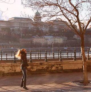 Budapestissä lomalla.