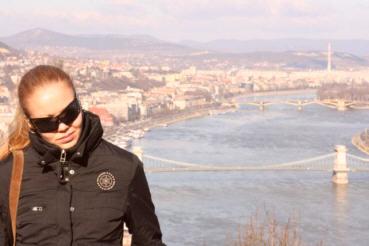 Budapestin kevät häikäisi.