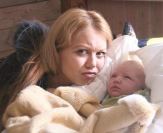 Poika syntyi 26.3 2008