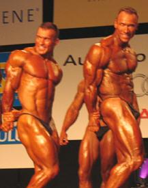 Jerry Ossi ja Janne Kotka vertailussa, sarja -87,5kg.