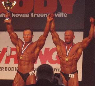 -80 kg, Kimmo Hovilainen (2), Petri Koivisto (1)