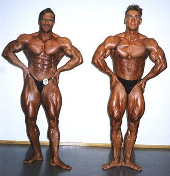 Heikki Viljanen (SM-1) ja Janne Kotka (SM-6).