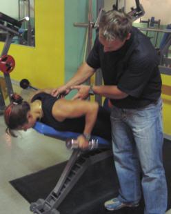 Janne opetti minulle uusia selkäliikkeitä.