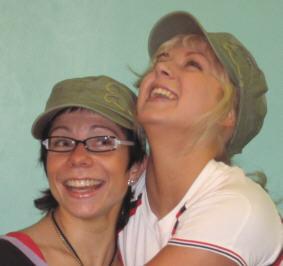 Ystäväni Kerttu ja Susanna Body Centerillä