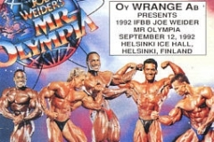 Joe Weider's Mr. Olympia 1992